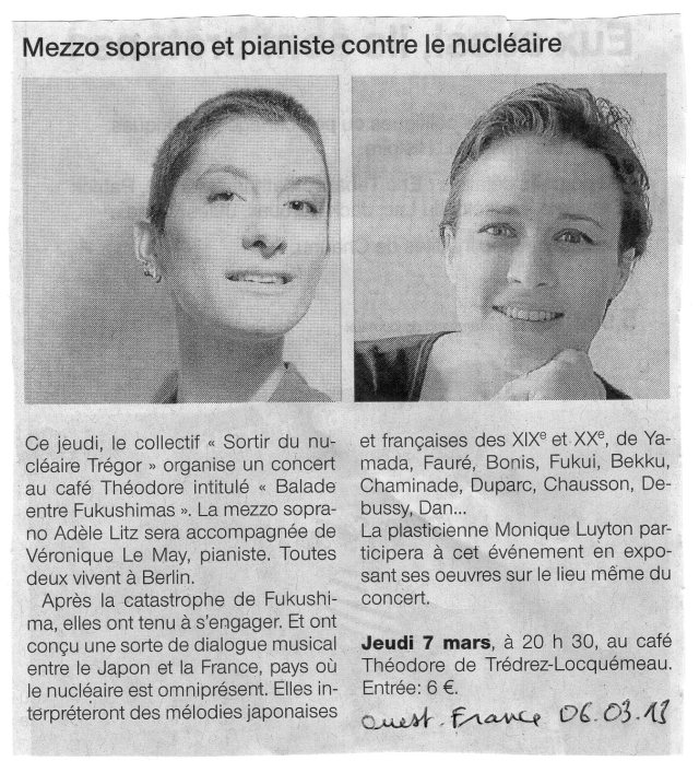 Ouest-France 06-03-13