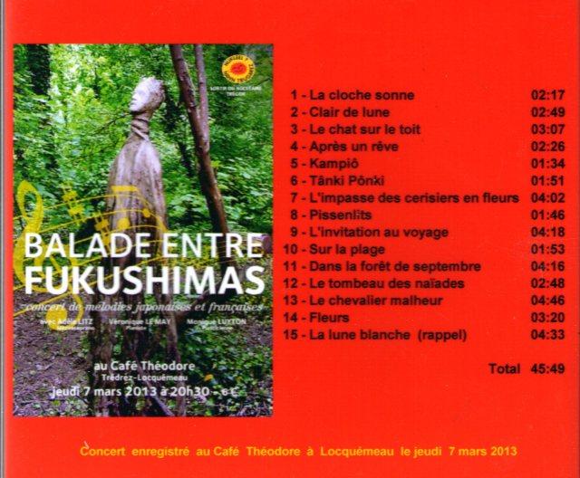Un superbe programme élaboré par Adèle LITZ