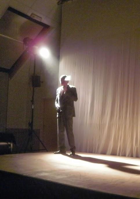 Nicolas LAMBERT durant le spectacle