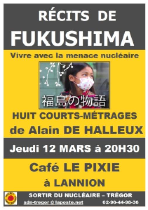 AFFICHE RECITS DE FUKUSHIMA