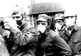 Des liquidateurs de Tchernobyl