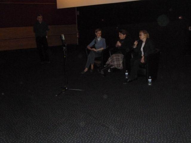 Lors du débat après le film LA SUPPLICATION